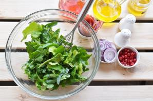 Салат с персиками - фото шаг 4