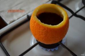 """Кофе в апельсине """"Бодрячок"""" - фото шаг 5"""