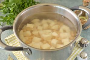 Суп с нутом и брокколи - фото шаг 4