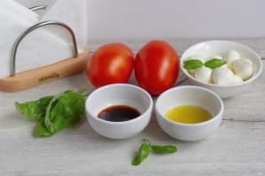 Фаршированные помидоры в итальянском стиле - фото шаг 1