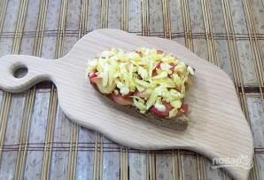 Горячие бутерброды с яблоками и сыром - фото шаг 3