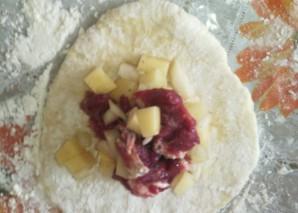 Самса с мясом и картошкой - фото шаг 8