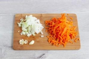 Картофельно-морковная запеканка с брокколи - фото шаг 4