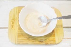 Салат из брокколи со сладкой заправкой - фото шаг 5
