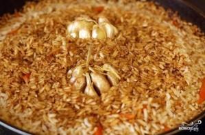 Плов из бурого риса со свининой - фото шаг 11