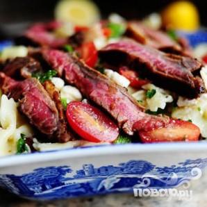 Паста салат с помидорами, цукини, и сыром Фета - фото шаг 19