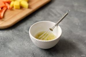 Салат из шпината и манго - фото шаг 3