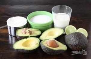 Мороженое с авокадо - фото шаг 1