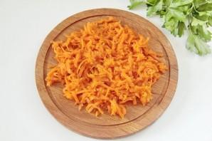 Салат желейный, слоеный - фото шаг 4