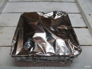 Хек в духовке с картошкой  - фото шаг 7