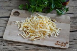 Грибы под сырным соусом - фото шаг 3