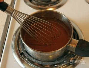 Жидкий шоколад - фото шаг 4
