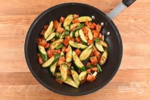 Лосось с овощным гарниром - фото шаг 5
