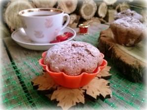 Кексы из бисквитного теста с начинкой - фото шаг 4