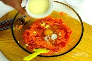 Морковные котлеты с манкой в духовке - фото шаг 7
