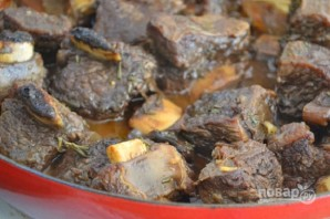 Ребрышки говяжьи на сковороде - фото шаг 4