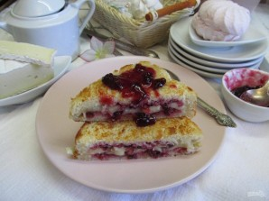 Бутерброды сладкие  - фото шаг 11