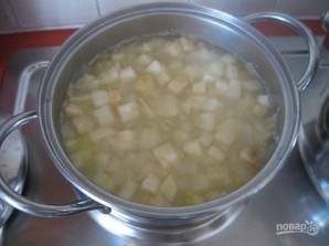 Овощной крем-суп с сухариками - фото шаг 5