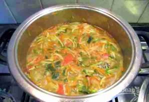 Зимний суп из овощей - фото шаг 6
