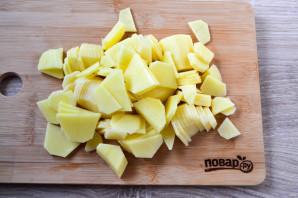 Куриные шейки с картошкой - фото шаг 5