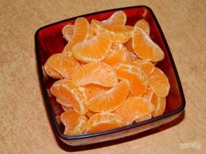 Десерт из карамельных мандаринов - фото шаг 1
