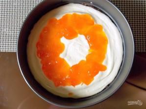 """Торт с джемом и сыром """"Филадельфия"""" - фото шаг 6"""