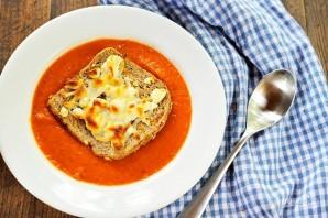 Итальянский томатный суп - фото шаг 10