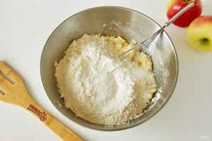 Яблочно-кокосовый пирог - фото шаг 5