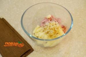 Салат на Новый год Свиньи - фото шаг 3
