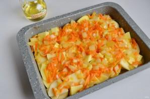 Рыба с картошкой в духовке - фото шаг 8