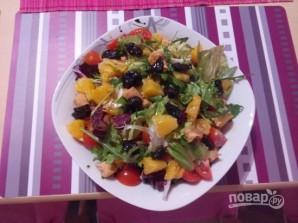 Салат из курицы с апельсинами - фото шаг 4