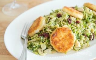 Тёплый салат с козьим сыром - фото шаг 7
