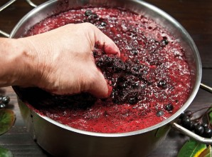 Домашнее вино из ягод - фото шаг 2