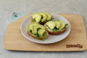 Бутерброд с авокадо - фото шаг 5