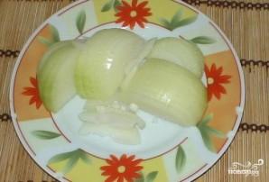 Картофель, тушенный со свининой и помидорами - фото шаг 3