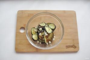 Закуска с баклажанами и чесноком - фото шаг 9