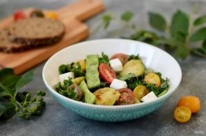 Салат с брюссельской капустой и стручковой фасолью - фото шаг 7