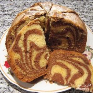 Мраморный кекс - фото шаг 5
