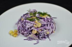 Салат из капусты и кукурузы - фото шаг 4