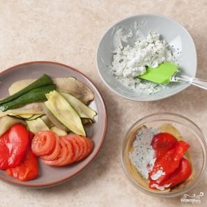 Овощной мильфей - фото шаг 7
