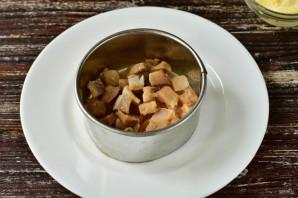 Селедка под шубой с грецкими орехами - фото шаг 2