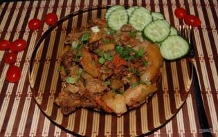 Жаркое со свининой и овощами - фото шаг 16