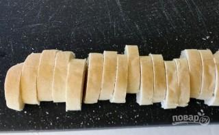 Бутерброды с красной рыбой и огурцом - фото шаг 1