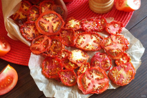 Чипсы из помидоров в сушилке - фото шаг 6