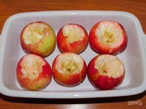 Запеченные яблоки с творожной начинкой - фото шаг 1