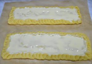 Пирог с грушами и сливами - фото шаг 10