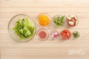 Салат из картофеля и яиц - фото шаг 1