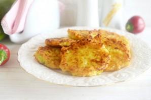Оладьи из кабачков и картофеля - фото шаг 6