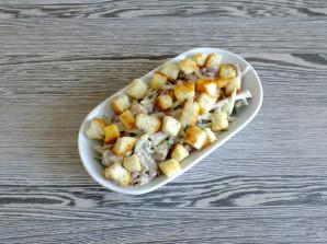 Салат с говядиной и сухариками - фото шаг 10