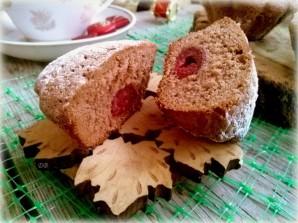 Кексы из бисквитного теста с начинкой - фото шаг 5